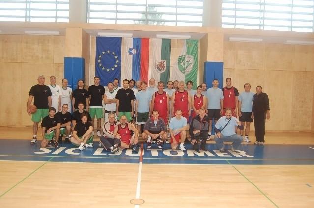 Udeleženci 7. Turnirja geodetov v Košarki, Ljutomer 2012