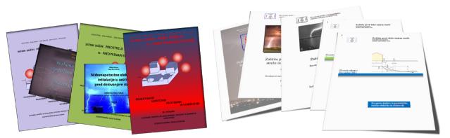Številna strokovna literatura društva SDGSS